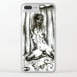Woodoo Clear iPhone Case