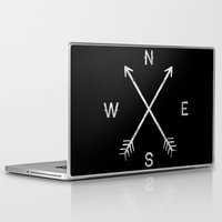 compass Laptop & iPad Skins featuring Compass by Empyrie
