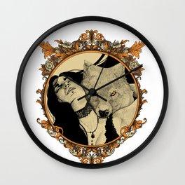 Love Bite (Colored) Wall Clock