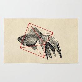 Fish In Geometrics III Rug