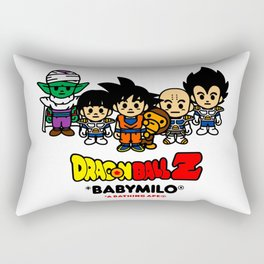 Dragonball z baby milo Rectangular Pillow
