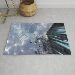Frozen time Rug