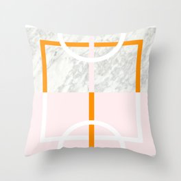 MARBLE COURT II Throw Pillow