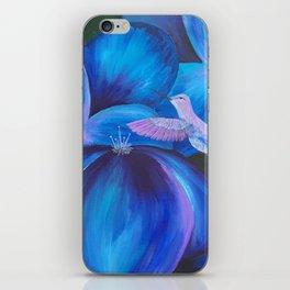 Hummingbird on the Move iPhone Skin