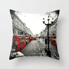 London Street Throw Pillow