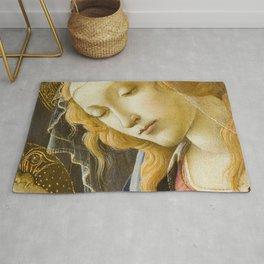 Madonna and Child Renaissance Religious art Rug