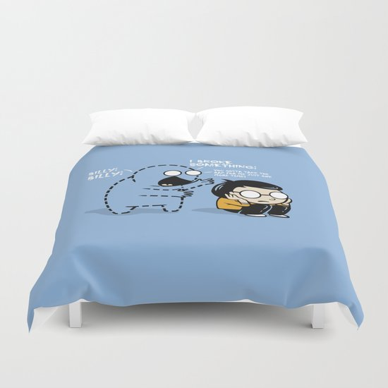 Worst Imaginary Friend Ever Duvet Cover