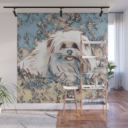 Beau the handsome dog Wall Mural