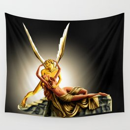 CUPID AND PSYCHE Wall Tapestry