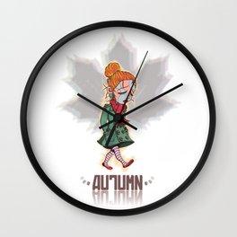 Otoño / Autumn Wall Clock
