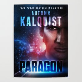 Paragon Book Cover Print Poster