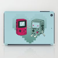 bmo iPad Cases featuring BMO IN LOVE by Manfred Maroto
