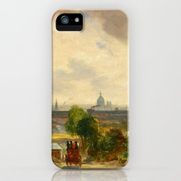 "John Constable ""Sir Richard Steele's Cottage, Hampstead"" iPhone Case"