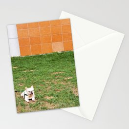 Little French Bulldog Stationery Cards