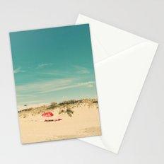 Red Umbrella Summer Stationery Cards