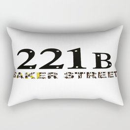 221B Baker Street  Rectangular Pillow