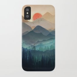 Wilderness Becomes Alive at Night iPhone Case