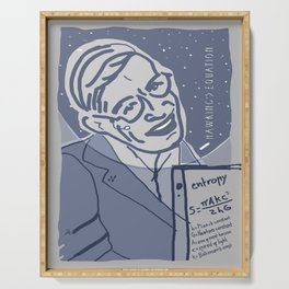 Dear Stephen Hawking / Stay Wild Collection Serving Tray
