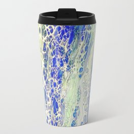 Flowing, Abstract Art, Painting Travel Mug