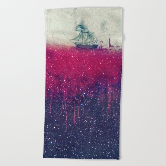 Sailing in dreams II Beach Towel