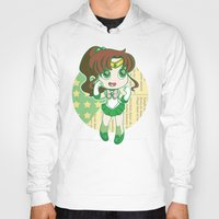 sailor jupiter Hoodies featuring Sailor Jupiter by strawberryquiche
