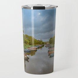 Row Boats Travel Mug