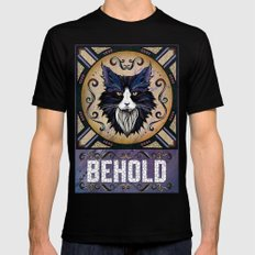 Behold Mens Fitted Tee Black MEDIUM