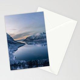 Polar Night Stationery Cards