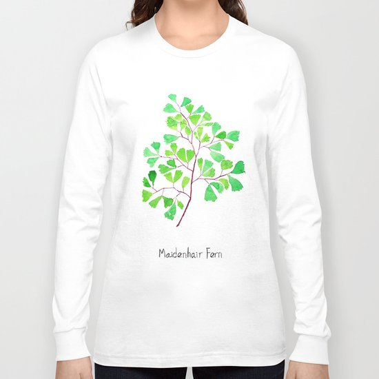 Maiden hair fern Long Sleeve T-shirt