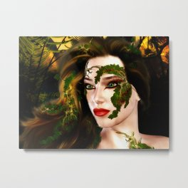 Dryad of the Forest Metal Print