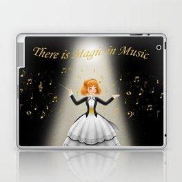 There is Magic in Music Laptop & iPad Skin