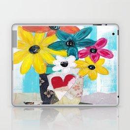 PATCHWORK VASE Laptop & iPad Skin