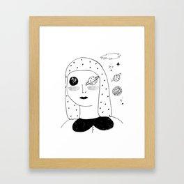 Lunar Sea Framed Art Print