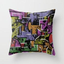 Textured Segregation Throw Pillow
