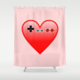 Gamer lover Shower Curtain