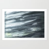 washed clean Art Print