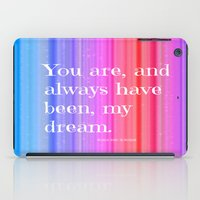 notebook iPad Cases featuring Nicholas Sparks Notebook quote by Laura Santeler