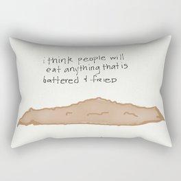 the meat Rectangular Pillow