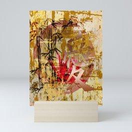 Asiatisches Schriftzeichen Liebe Mini Art Print