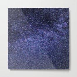 night stars-milky way Metal Print