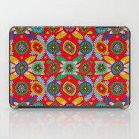 aztec iPad Cases featuring Aztec by Helene Michau