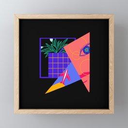 Flight Mode Framed Mini Art Print