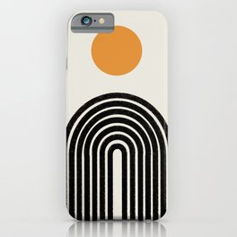Modern Arch Art iPhone Case