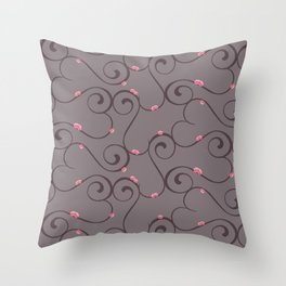Amour Pattern Throw Pillow
