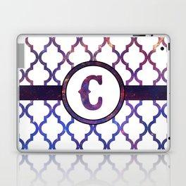 Galaxy Monogram: Letter C Laptop & iPad Skin