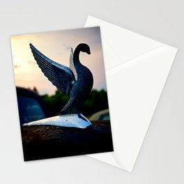 Packard Swan Stationery Cards