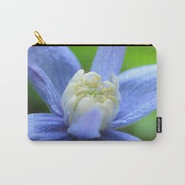SOFT BLUE #1 - Clematis Alpina Carry-All Pouch