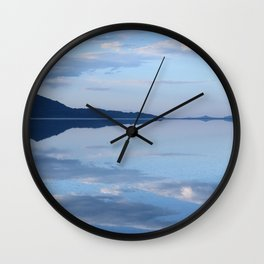 Salt Flat Sky Wall Clock