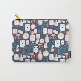 Alice in Wonderland - Indigo madness Carry-All Pouch