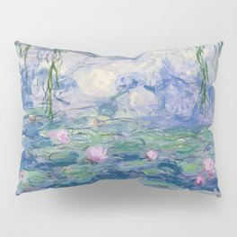 """Claude Monet """"Water Lilies(Nymphéas)"""" (9) 1916–19.jpg Pillow Sham"""